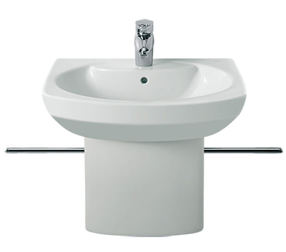 Additional image of Roca Senso Wall Hung Basin With 1 Tap Hole