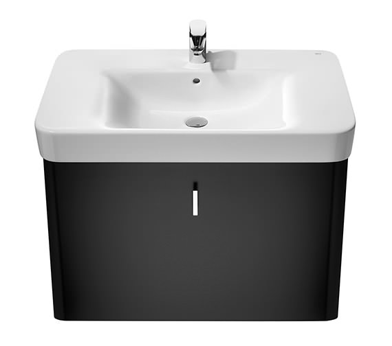 Additional image of Roca Senso Square Wall Hung Basin 850 Wide With 1 Tap Hole - 32751N000