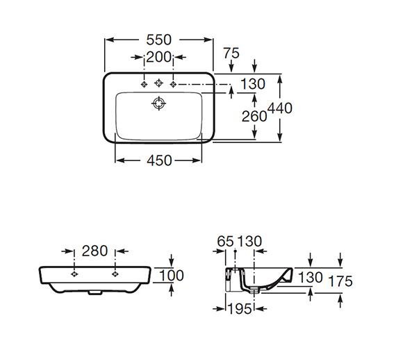 Technical drawing QS-V56727 / 32751C000