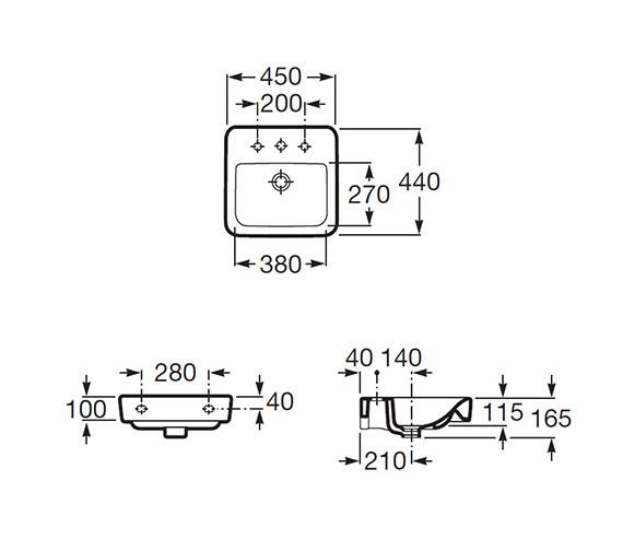 Technical drawing QS-V56728 / 32751T000