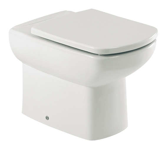 Roca Senso Compact Back To Wall WC Pan With Toilet Seat - 347517000