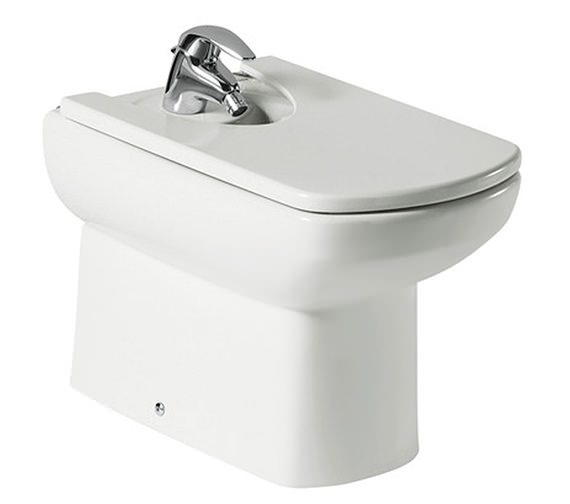 Roca Senso Back To Wall Bidet With One Tap Hole 570mm - 357517000