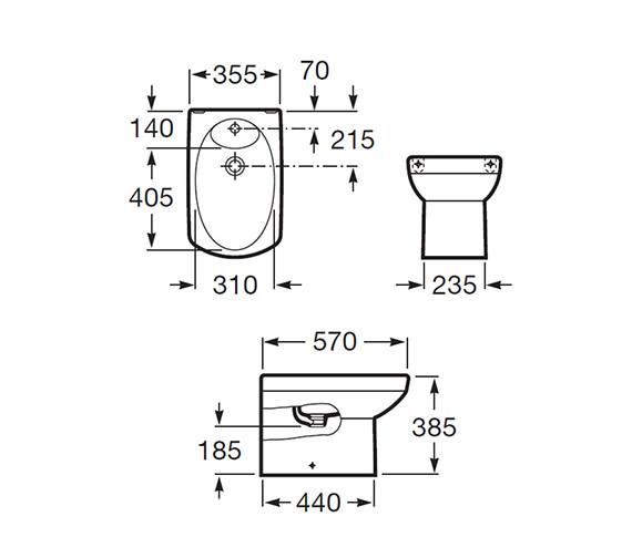 Technical drawing QS-V56737 / 357517000
