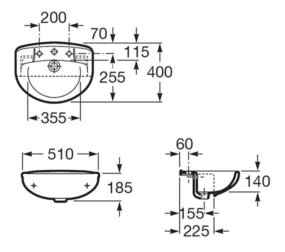 Technical drawing QS-V56775 / 32739F000