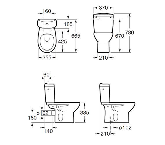 Technical drawing QS-V56778 / 34239S000