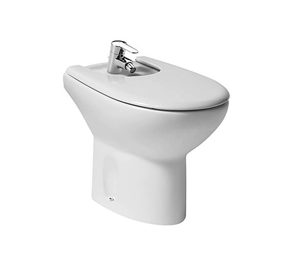 Roca Laura Floor Standing 1 Tap Hole Bidet 545mm - 355394000