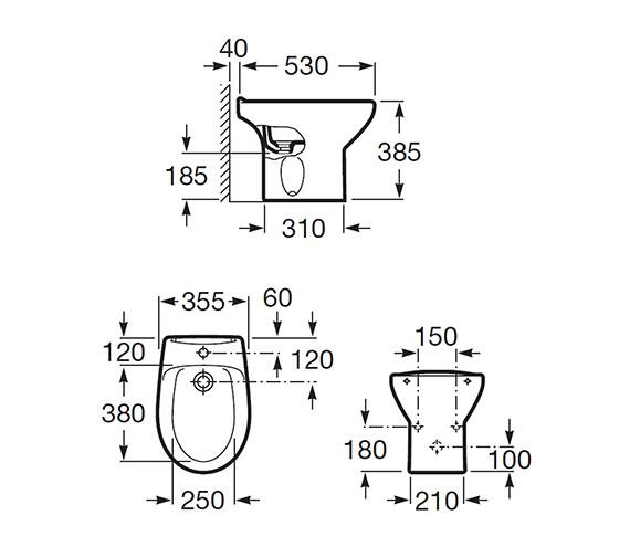 Technical drawing QS-V56780 / 355394000