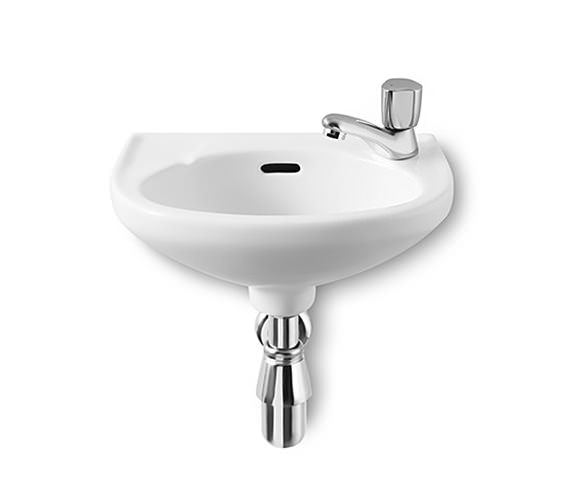 Roca Laura Cloakroom Basin 350mm Wide With 1 Tap Hole - 325316005
