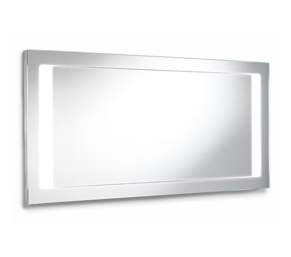 Roca Stratum Mirror With Integrated Light 1300 x 600mm - 856225000