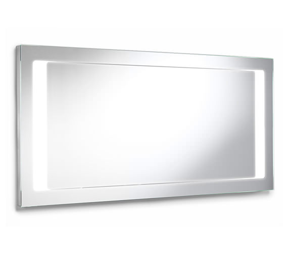 Additional image of Roca Stratum Rectangular Mirror With Integrated Light