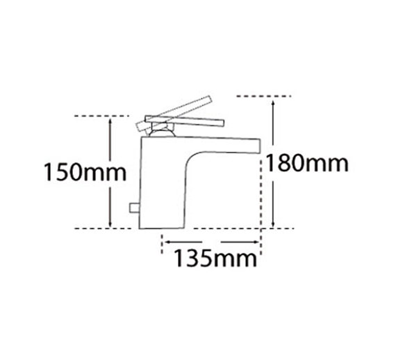 Technical drawing QS-V57026 / 40010