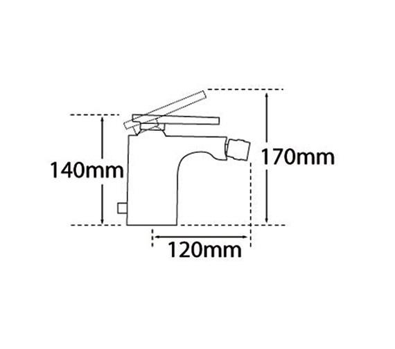 Technical drawing QS-V57027 / 40080