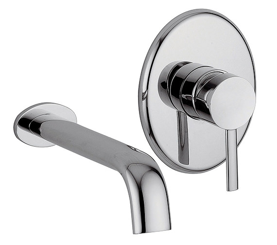 Tre Mercati Bella 2 Hole Wall Mounted Basin Mixer Tap