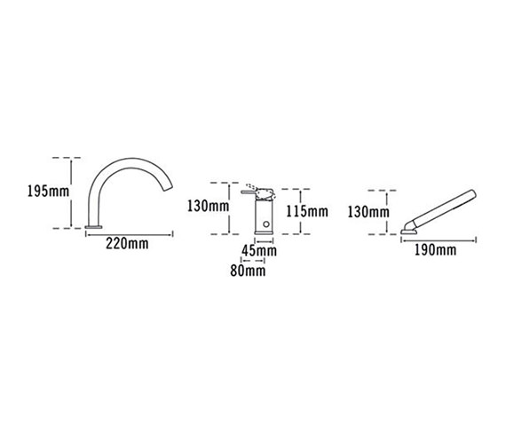 Technical drawing QS-V57048 / 42060