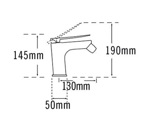 Technical drawing QS-V57055 / 25880