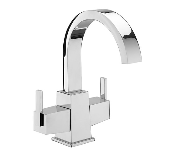 Tre Mercati Mr Darcy Mono Basin Mixer Tap With Click Clack Waste