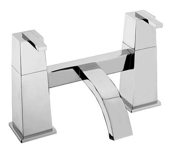 Tre Mercati Mr Darcy Pillar Mounted Bath Filler Tap Chrome - 53030