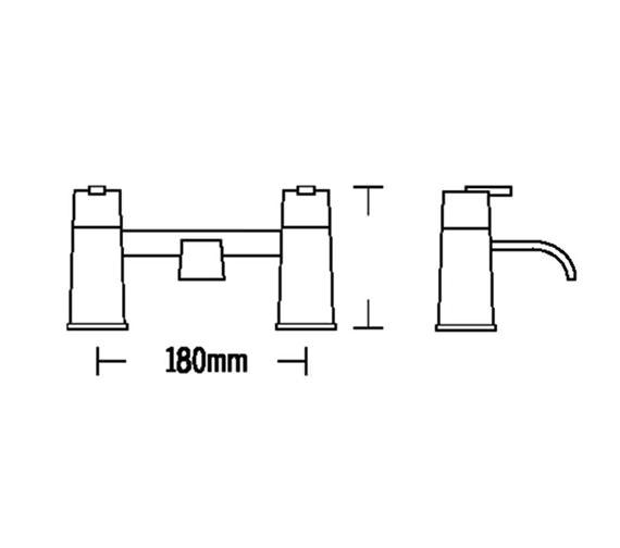 Technical drawing QS-V57073 / 53030