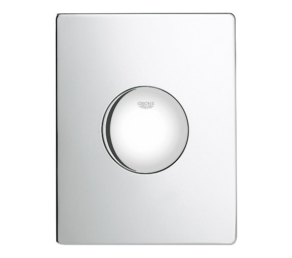 Grohe Skate Pneumatic Single WC Flush Wall Plate
