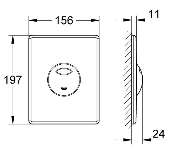 Technical drawing QS-V57653 / 38862000