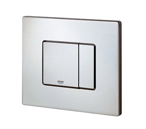 Grohe Cosmo Dual Flush WC Wall Plate Stainless Steel - 38776SD0