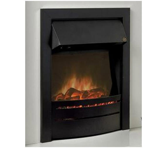 Celsi Ultiflame Contemporary Black Electric Fire
