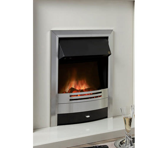 Celsi Ultiflame Prominence Silver Electric Fire