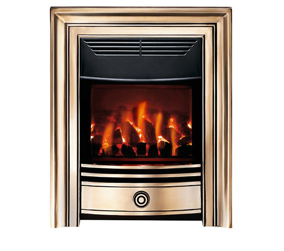 Valor Dimension Classica Electric Fire Brass - 0584421