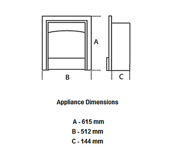 Technical drawing QS-V57686 / 0584421