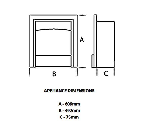 Technical drawing QS-V57696 / 0580941