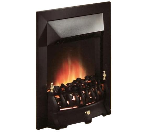 Valor Blenheim Longlite Led Electric Fire Black 0582451