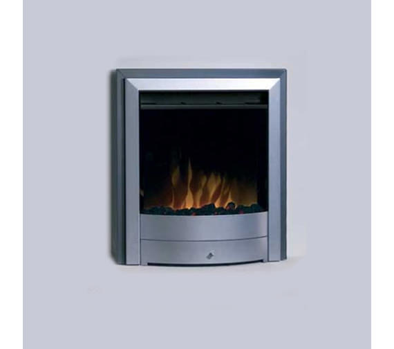 Dimplex X1 Electric Fire Dark Grey And Silver | X1S