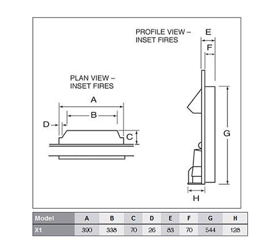 Technical drawing QS-V57710 / X1S