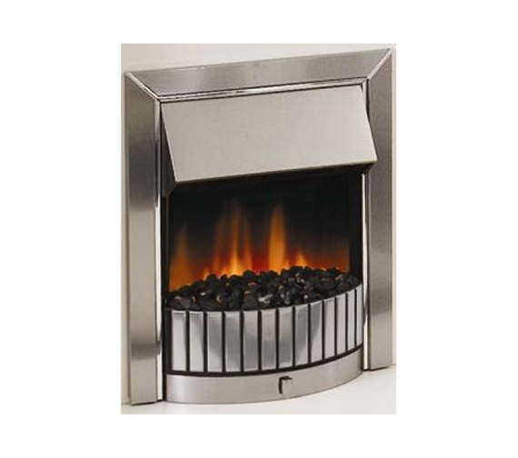 Dimplex Delius Electric Fire Stainless Steel | DLS20