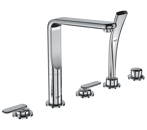 Grohe Spa Veris 5 Hole Bath Shower Set - 19362000