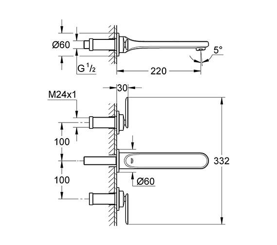 Technical drawing QS-V57739 / 20195000