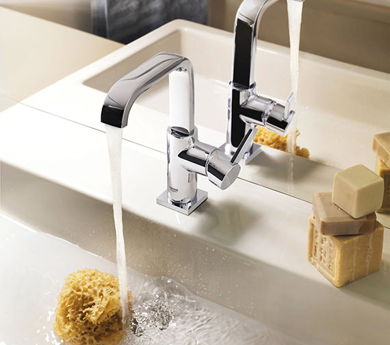 Additional image of Grohe Spa Allure Basin Mixer Tap With Pop-up Waste - 32146000