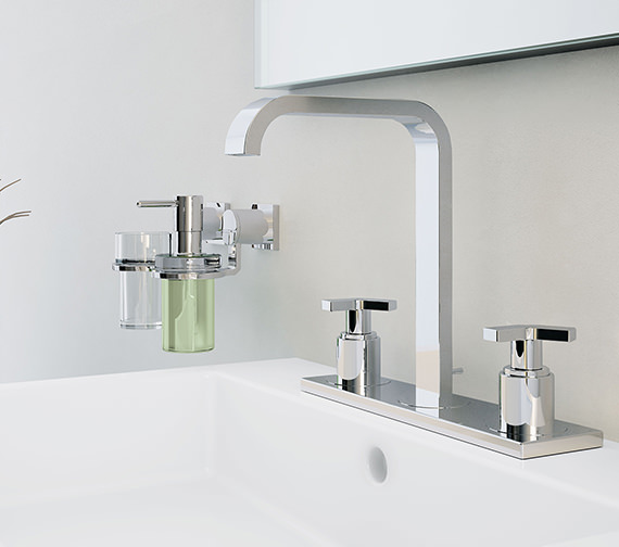 Grohe Allure 3 Hole Deck Mounted Basin Mixer Tap
