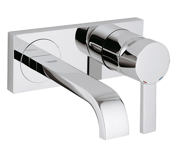 Grohe Spa Allure Wall Mounted Basin Mixer Tap - 19309000