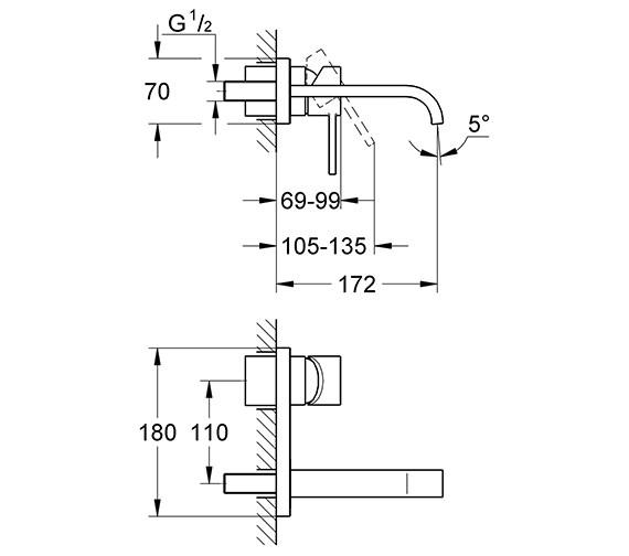 Technical drawing QS-V57746 / 19309000