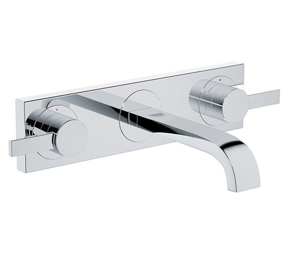 Grohe Allure 3 Hole Basin Mixer Tap Chrome