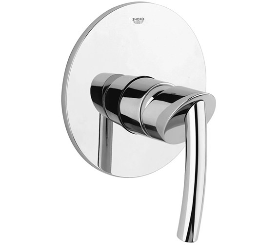 grohe tenso shower mixer trim with rapido e 19051000. Black Bedroom Furniture Sets. Home Design Ideas