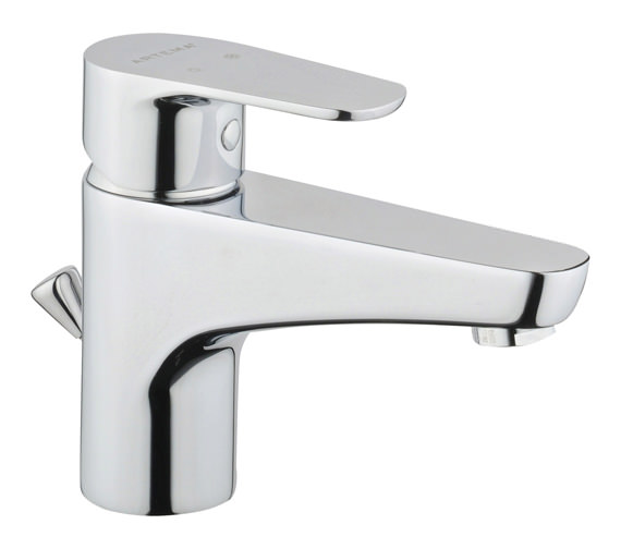 VitrA D-Line Basin Mixer Tap With Pop-up Waste Chrome - A40751VUK