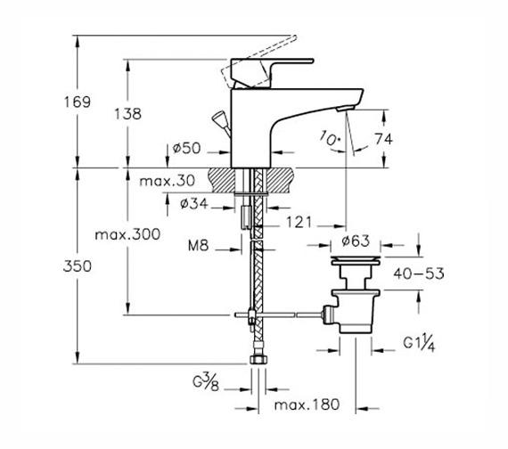 Technical drawing QS-V57847 / A40751VUK