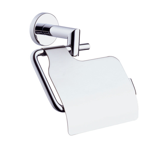 VitrA Minimax Toilet Roll Holder Chrome With Cover