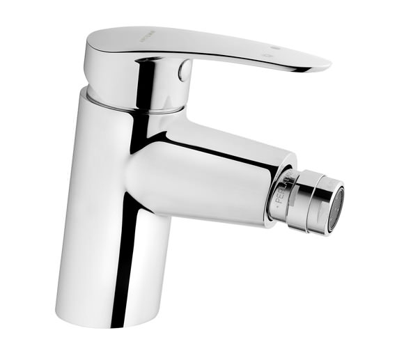 VitrA Dynamic S Bidet Mixer Tap With Pop-up Waste Chrome