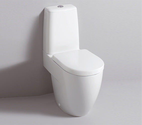 Additional image of Twyford 3D 680mm Close Coupled WC Suite With Standard Seat