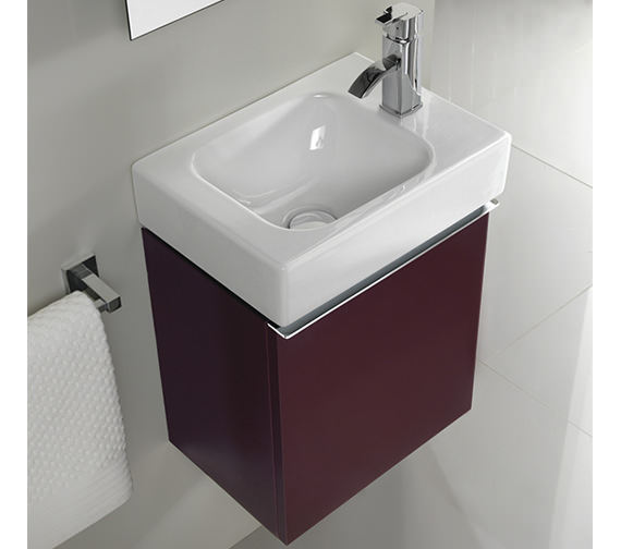 Additional image of Twyford 3D 380mm Handrinse Basin And Alpine White Vanity Unit