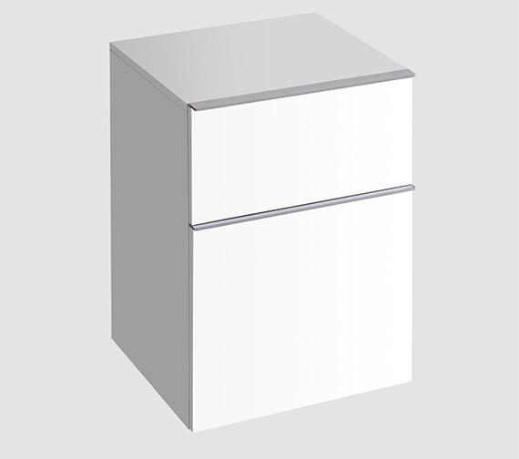 Twyford 3D Side Unit Alpine White 450 x 600mm