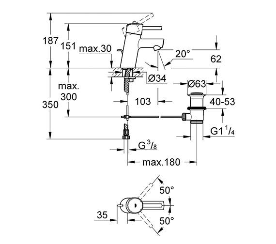 Technical drawing QS-V58241 / 3220210L